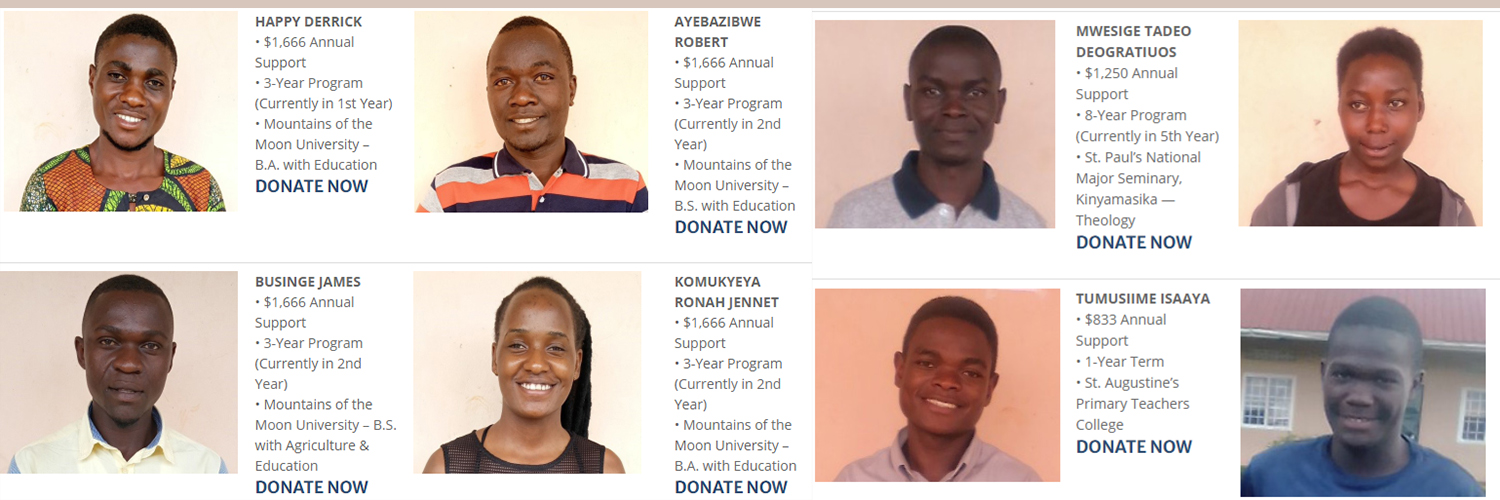 Consider impacting and saving the lives of these Scholarship Seekers